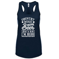 Country Music and Beer Tank Top