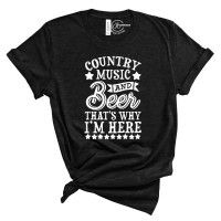 Country Music and Beer T-Shirt