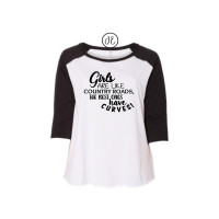 Country Roads Curvy Collection Raglan
