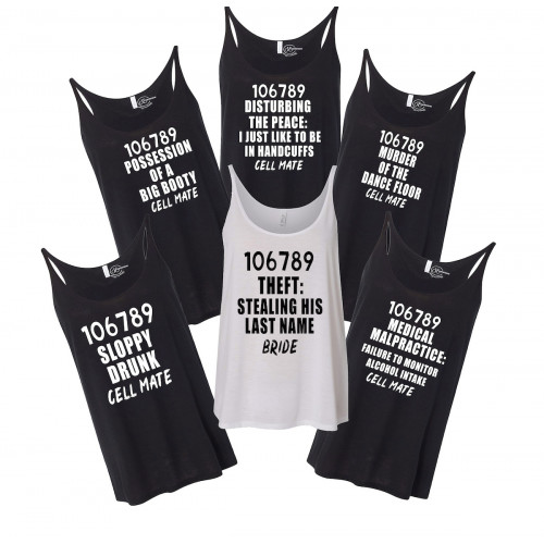 Criminal Bridal Party Slouchy Tank - Multiple Options!
