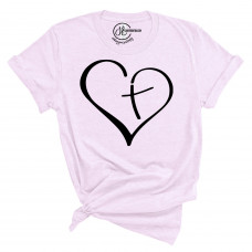 Cross Heart T-Shirt