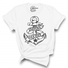 Cruising Together Crew Neck T-Shirt- Color Your SOUL!