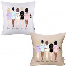 ** Custom Bridal Party Pillow Cover