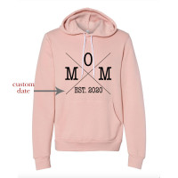Custom Date Mom Fleece Hoodie - Parental Hope