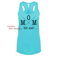 Custom Date Mom Tank Top - Parental Hope
