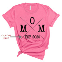Custom Date Mom T-Shirt - Parental Hope