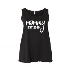 Custom Mommy Curvy Collection Tank