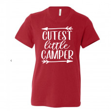 Cutest Little Camper Youth T-Shirt