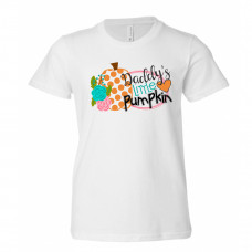 Daddy's Little Pumpkin Youth T-Shirt