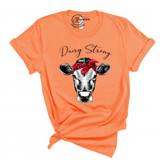 Dairy Strong Crew Neck T-Shirt