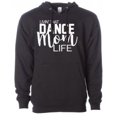 ~FINAL SALE~Dance Mom Fleece Hoodie - XS/ROYAL BLUE