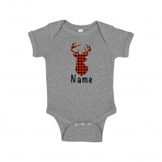 Deer Christmas Custom Onesie