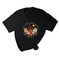 Desert Highway V-Neck T-Shirt