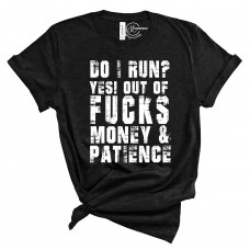 Do I Run? Crew Neck T-Shirt