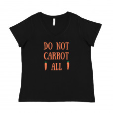 Do Not Carrot At All Curvy Collection V-Neck