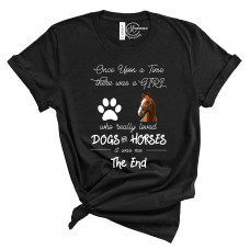 Dogs and Horses T-Shirt