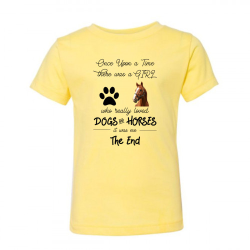 Dogs and Horses Toddler T-Shirt