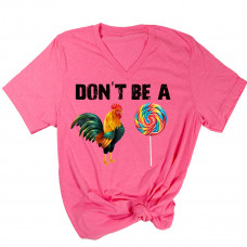 Don't be a Cock Sucker V-Neck T-Shirt