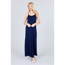 **Double V-neck Cami Maxi Dress ( Multiple Colors)