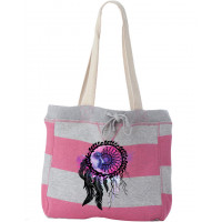 Dreamcatcher Moon Beach Bag