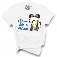 Drink Like a Beast Crew Neck T-Shirt