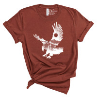Eagle in Nature T-Shirt