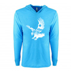 Eagle in Nature Lightweight Hoodie