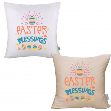 Easter Blessings Pillow Cover