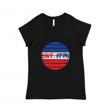 Est 1776 Curvy Collection V-Neck