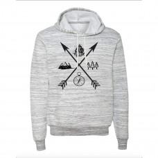 Exploring Arrows Fleece Hoodie