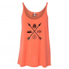 Exploring Arrows Slouchy Tank
