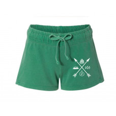 Exploring Arrows Printed French Terry Shorts
