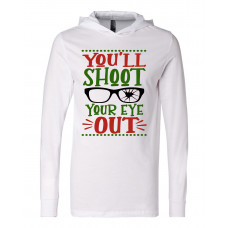 ~SALE!~You'll Shoot Your Eye Out Lightweight Hoodie -Small