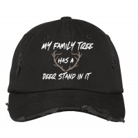 Family Tree Distressed Hat
