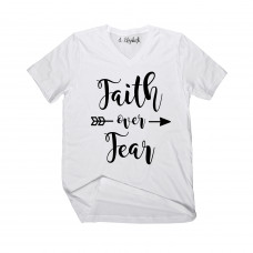 Faith Over Fear V-Neck