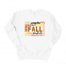 Fall Subway Art Unisex Drop Sleeve Sweatshirt
