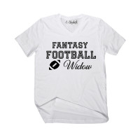 Fantasy Football Widow V-Neck