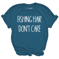 Fishing Hair Don't Care