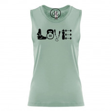 Fitness Love Festival Muscle Tank