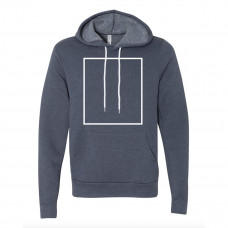 Heather Navy Fleece Hoodie BYOT