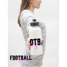 Football and Faith Water Bottle