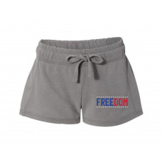 Freedom Printed French Terry Shorts
