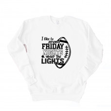 Friday Night Lights Unisex Drop Sleeve Sweatshirt