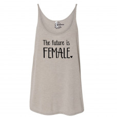 Future is Female Slouchy Tank