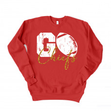 Go Chiefs Unisex Drop Sleeve Sweatshirt