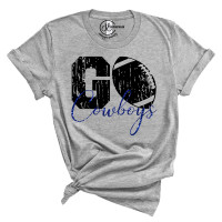 Go Cowboys Crew New T-Shirt