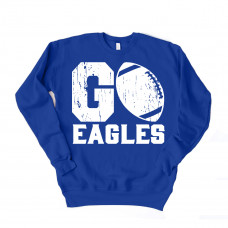 Go Eagles Unisex Drop Sleeve Sweatshirt