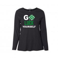 Go Luck Yourself Curvy Collection Long Sleeve