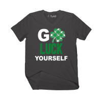 Go Luck Yourself V-Neck