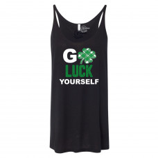 Go Luck Yourself Slouchy Tank